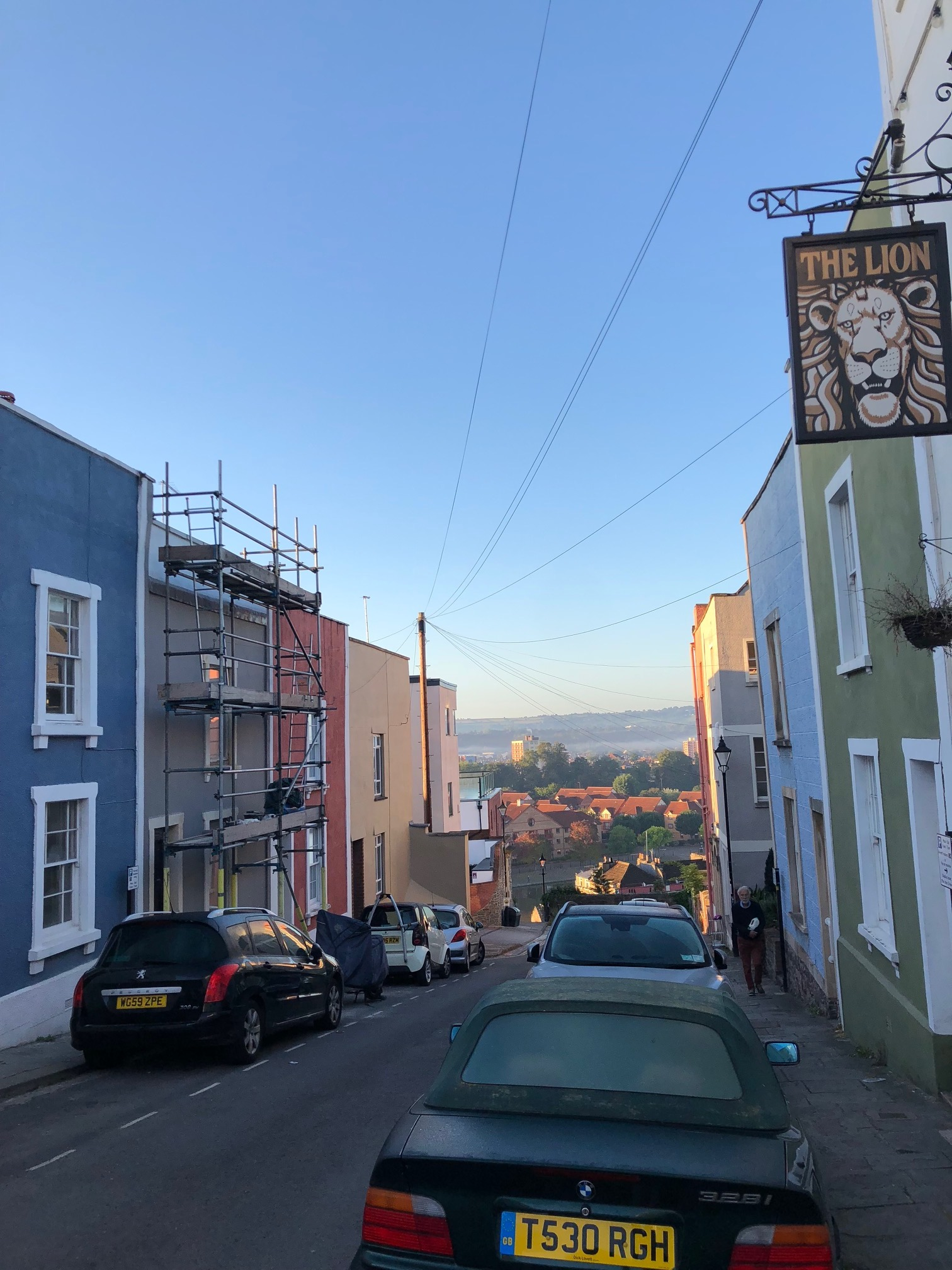 This is a photo of Bristol in 2018, by Cliftonwood Crescent.